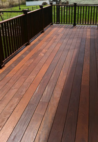 Deck made with Ipe