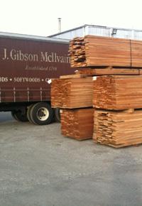 Ipe in the J Gibson McIlvain lumberyard