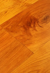 Rehmeyer Pioneer Collection Cherry Floor with Soft Edge